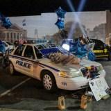 Friends mourn 'bravest police officer'