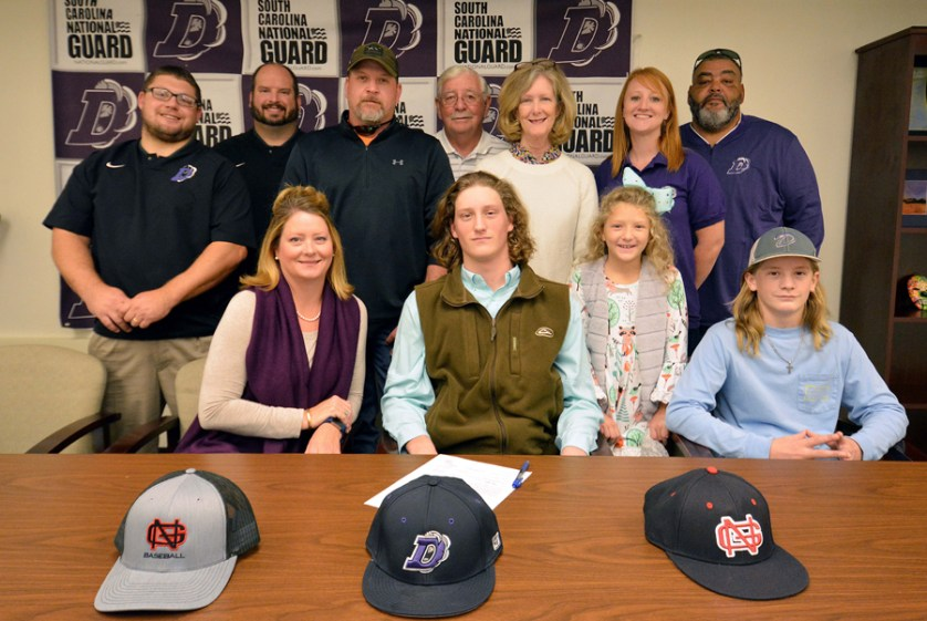Darlington High student-athlete signs letter of intent