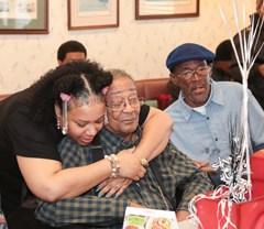 'No-nonsense, cool and full of wisdom,' Davis celebrates 100