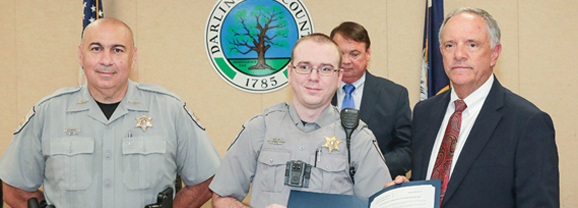'Above and beyond': Self named state Deputy of the Year