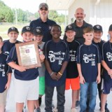Lamar Dixie Youth team celebrates  state championship, batting title