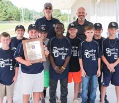Lamar Dixie Youth team celebrates  state championship, batting title