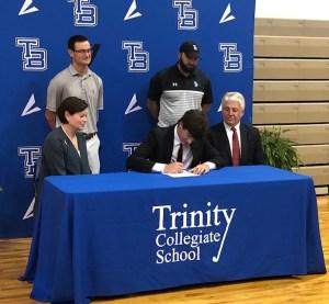 Trinity Collegiate golfer Zeigler signs with USC