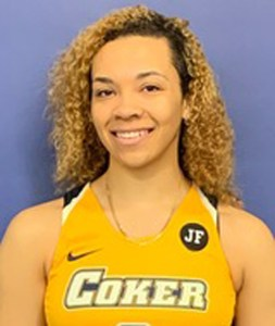 Coker's Davis scores 1,000th career point