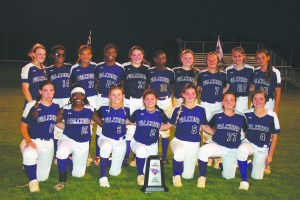 Darlington High School Lady Falcons earn State Runner Up