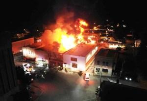 Public Square fire guts 2 businesses, damages others