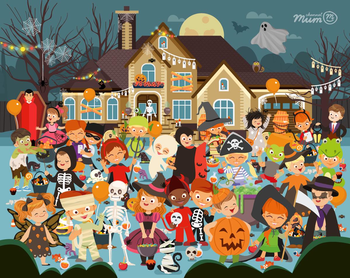 Can You Spot The 10 Pumpkins Hidden In This Halloween