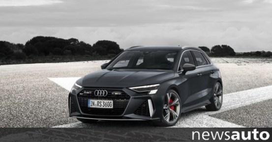 Με πάνω από 400 ίππους το νέο Audi RS3