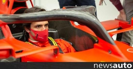 Η πρώτη μέρα του Sainz στη Ferrari