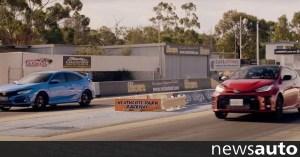 Το Toyota GR Yaris «κρίνει» το Honda Civic Type R (βίντεο)