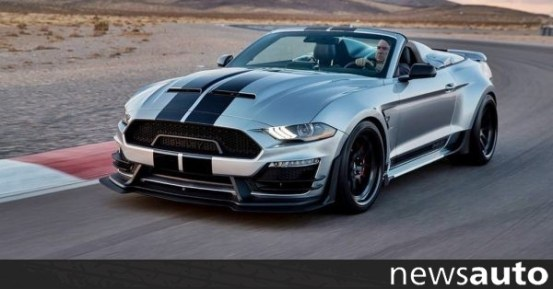 Shelby Super Snake Speedster: Το απόλυτο!