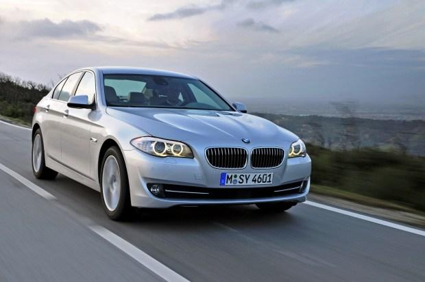The new BMW 530d Sedan (01/2010)