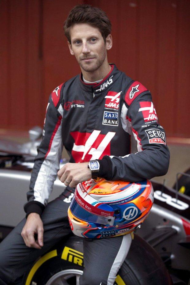 Romain Grosjean-spain-formula-one