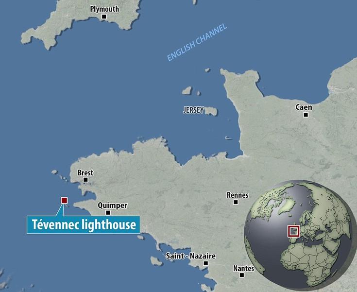 Tevennec lighthouse France