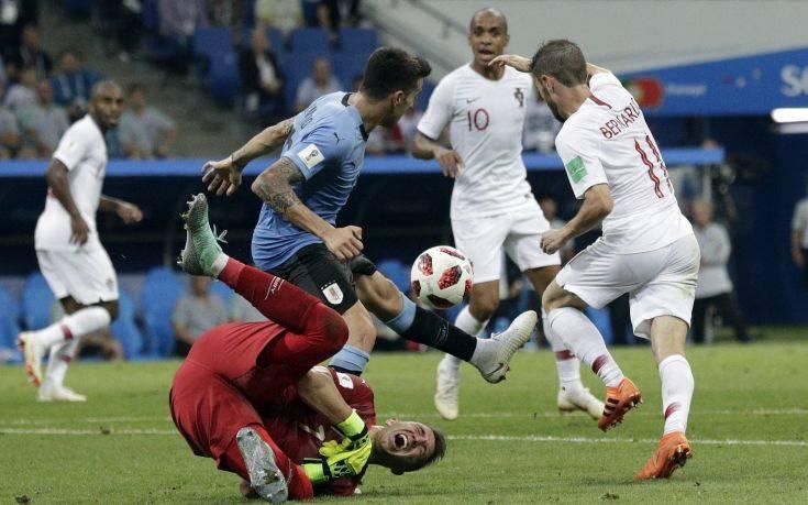 Russia Soccer WCup Uruguay Portugal