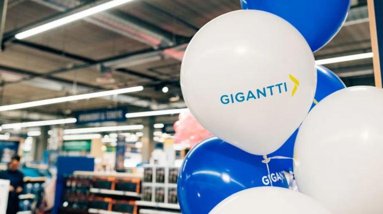 Gigantti avaa myymälän Kauppakeskus Kaareen