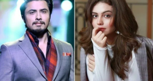 Zara Abbas Noor and Ali Zafar