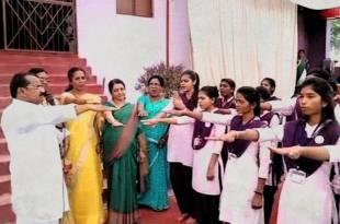 college girls took an oath