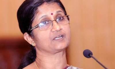Sheela Balakrishnan Former TN Adviser