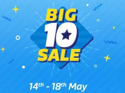 Flipkart Big 10 Sale