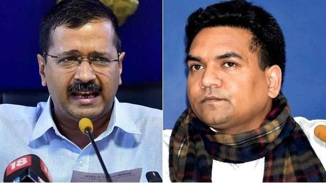 Kapil Mishra made a allegation that Arvind Kejriwal received 2 crores from health minister Sathyendar Jain