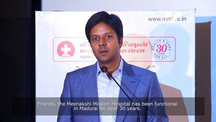 Gurushankar introduced a plan to the doctors