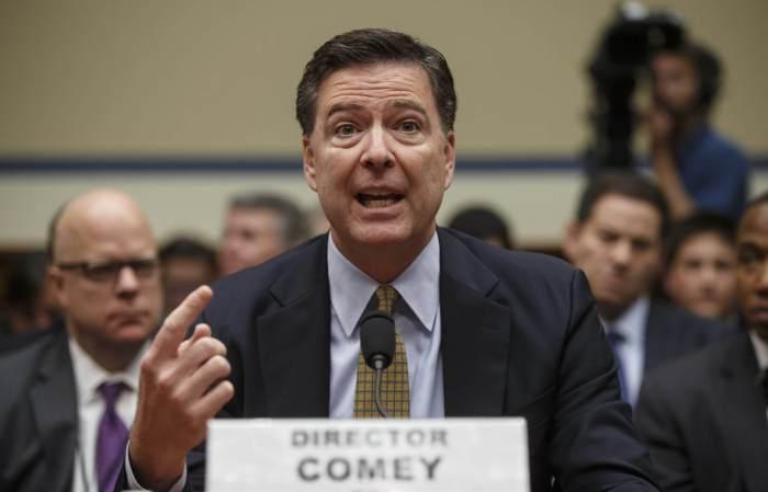 Donald Trump's decision of sacking FBI Director James Comey