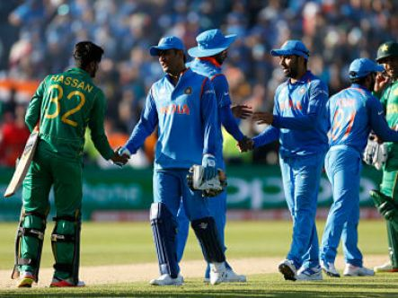 Pakistan that had entered the ICC Champions Trophy Final and it left with the top prize