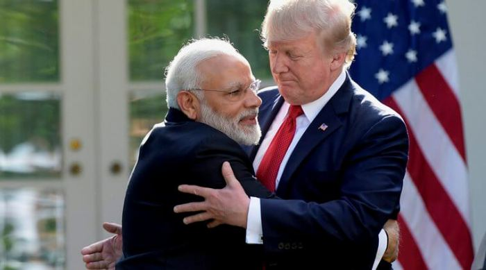 US President Donald Trump told Mr Modi was a true friend of India,