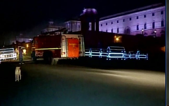 Fire breaks out at Prime Minister Narendra Modi's Office