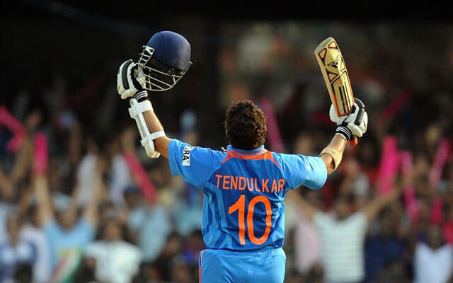 BCCI Unofficially Retires the Sachin Tendulkar's Jersey number 10