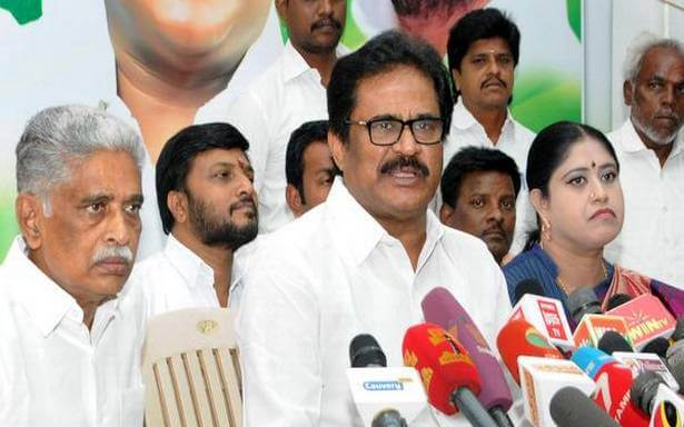 Congress - RK Nagar by-election Candidate S. Thirunavukkarasar