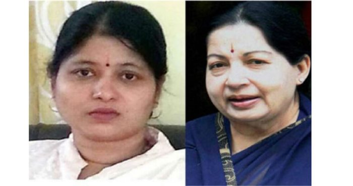 Amrutha was obstructed from paying her last respects to Jayalalithaa at the Rajaji Hall
