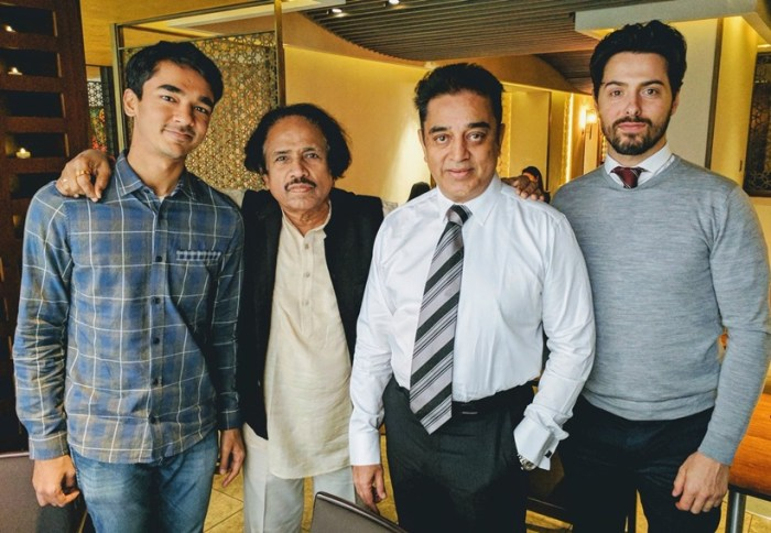 Micheal Corsale met Shruti's father Kamal Haasan