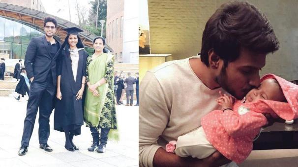 Sundeep Kishan Family Images