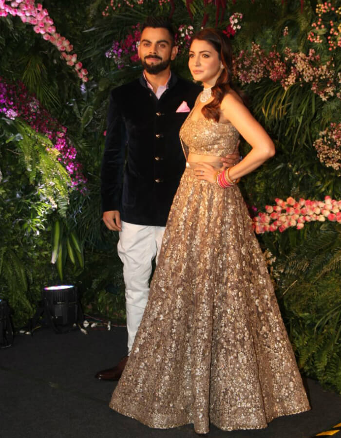 Virat Kohli and Anushka Sharma's Mumbai reception Photos