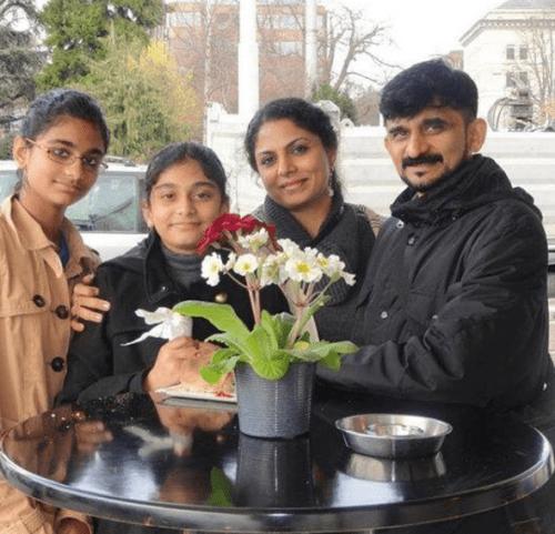Asha Sharath Family