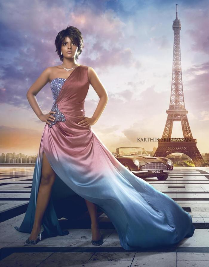 Aishwarya Rajesh as The Bond Girl