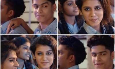 Priya Prakash Varrier's Cute Expressions