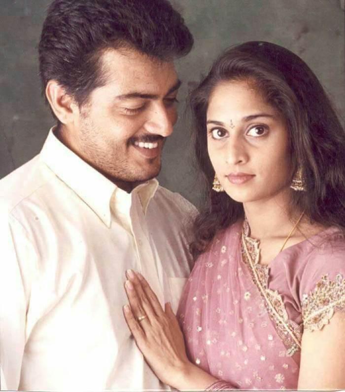 Ajith Kumar Wife Images