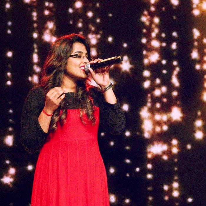 Super Singer Rakshita Images