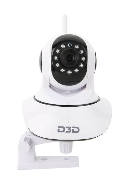 D3D Wireless HD IP Wifi CCTV Camera