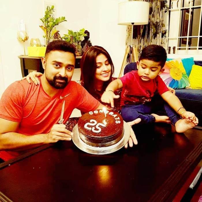 Actor Prasanna Sneha Family Photos