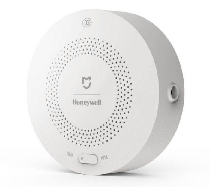 amiciKart Honeywell Standalone Fire Alarm Smoke Detector with Mijia Xiaomi Support