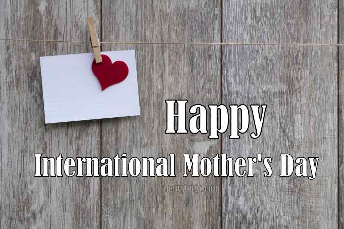 International Mother's Day