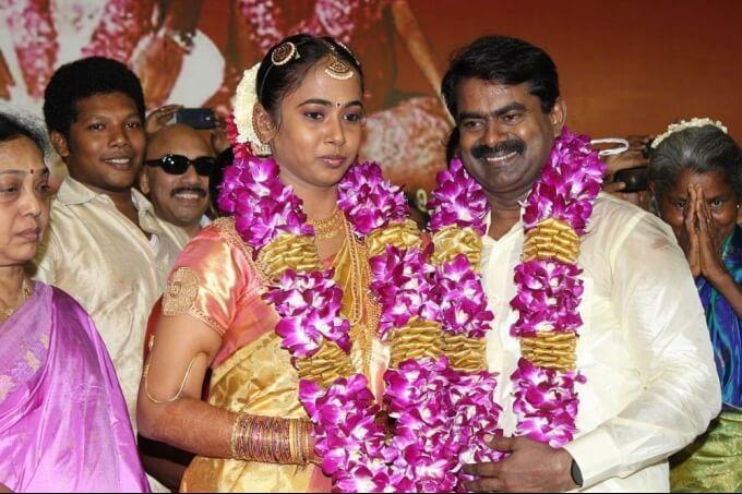 K Kayalvizhi (Seeman Wife) Wiki