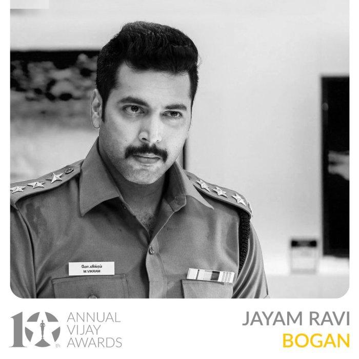 10th Annual Vijay Awards Winners 2018