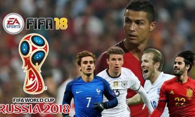FIFA World Cup 2018 Squad