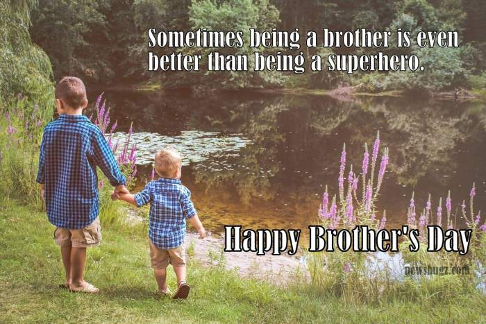 Happy National Brother's Day
