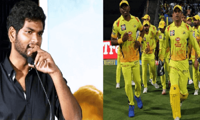 Vignesh Shivan Tweets about MS Dhoni